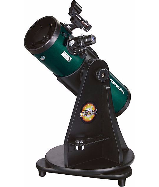 "Orion StarBlast 4.5"" telescope"