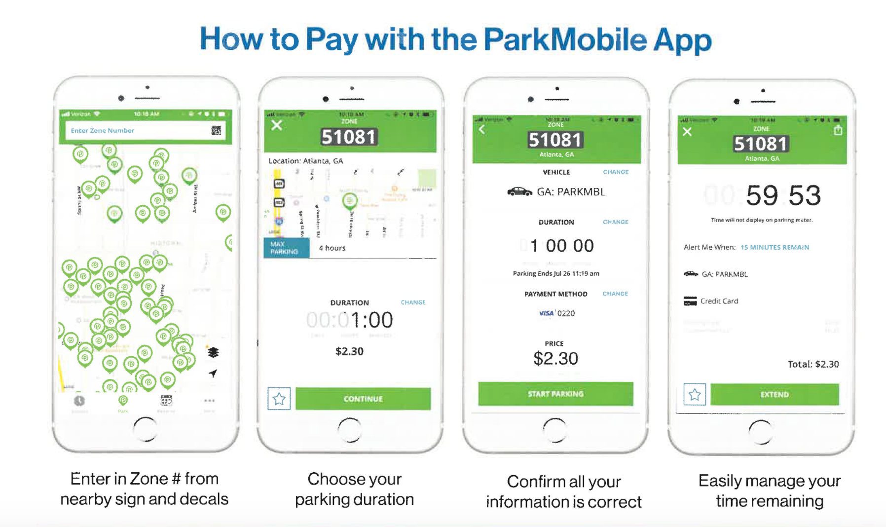 How to Pay with Park Mobile