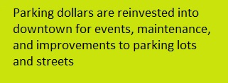 Parking Investment Dollars