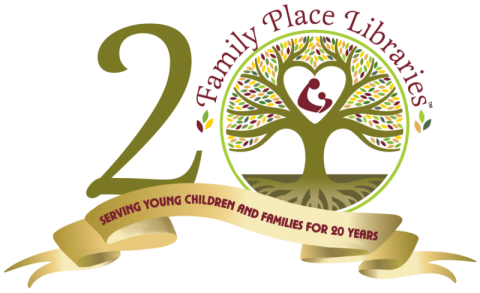 Family Place Libraries 20th Anniversary Logo