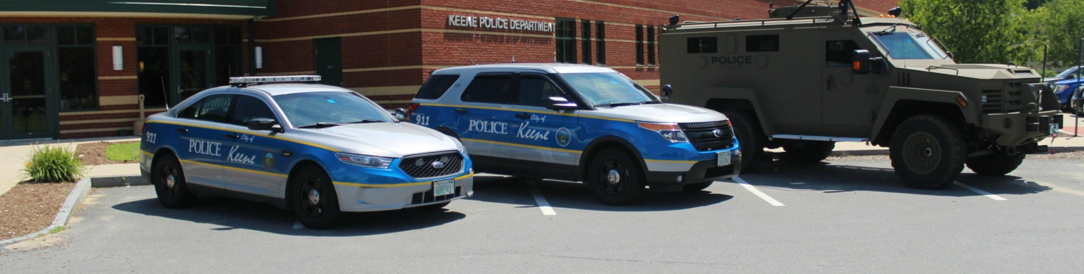 keene police vehicles