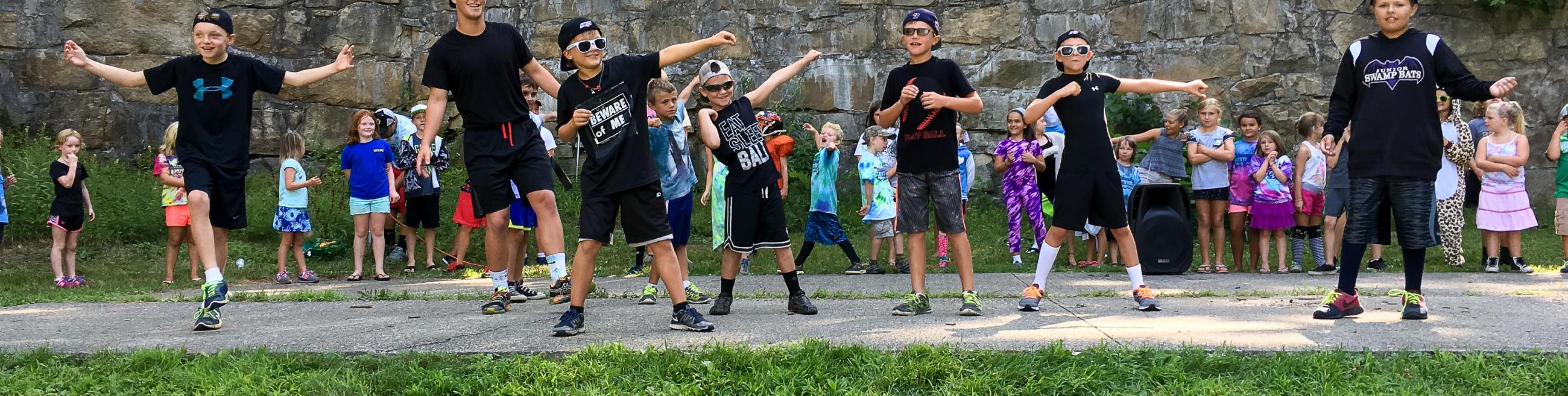 kids at Robin Hood Park
