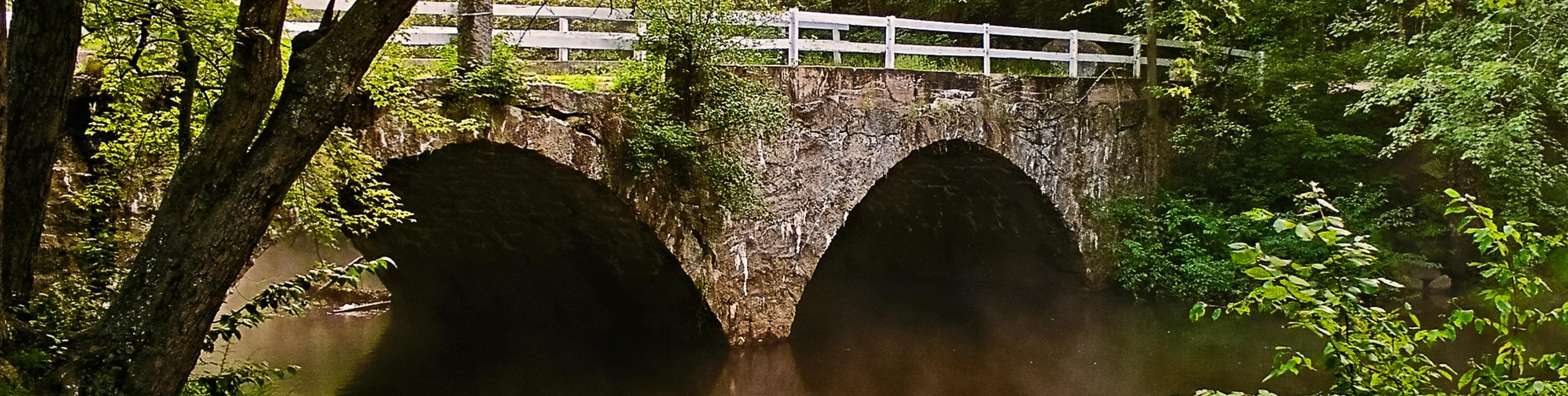 Historic Stone Bridge in Keene
