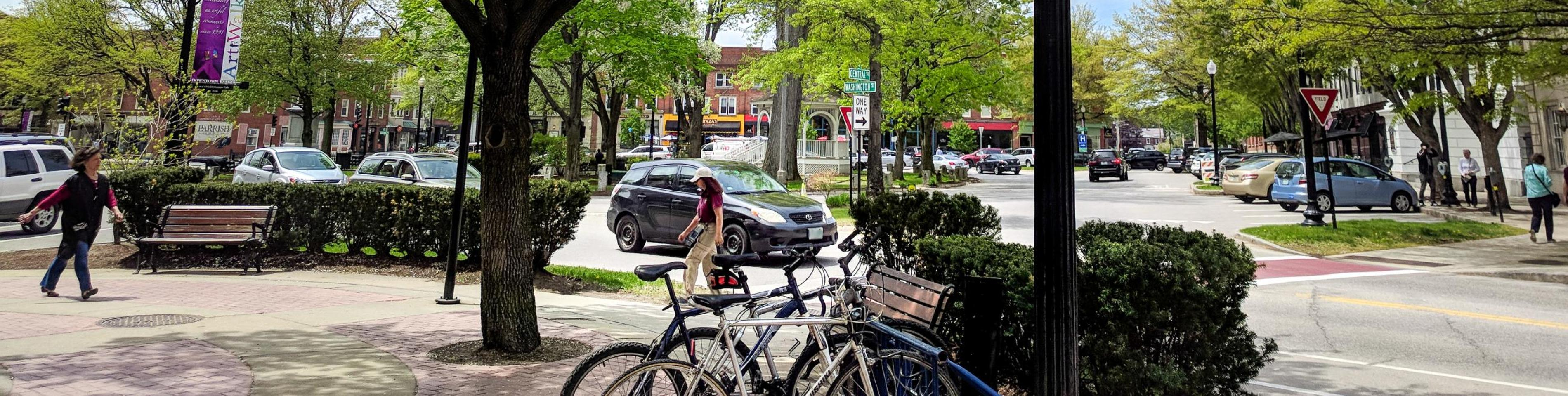 Downtown Keene in Spring
