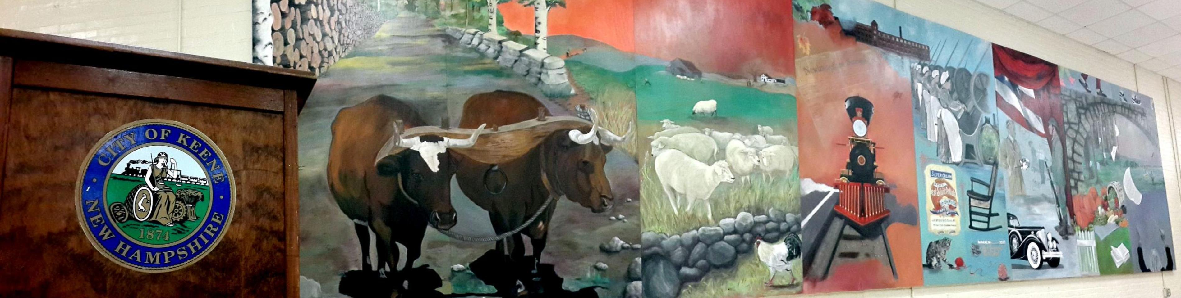 Keene Mural