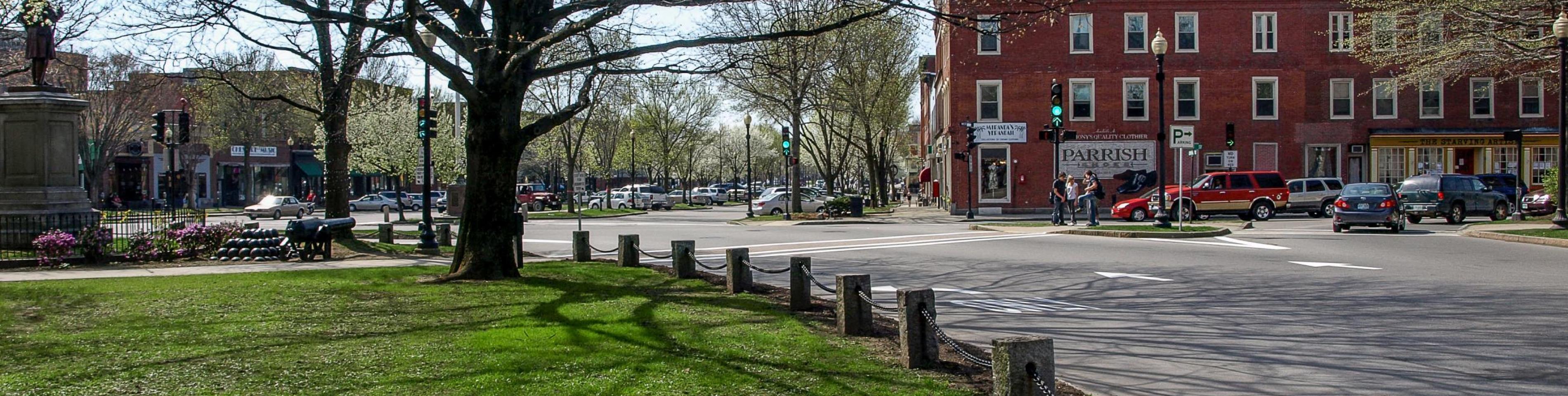 Downtown Keene Spring