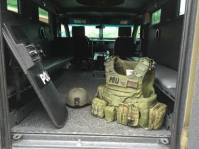 Keene Police tactical gear