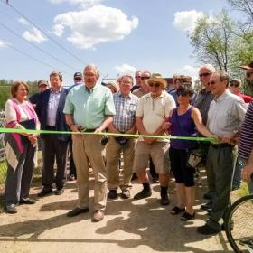 Ribbon Cutting for South Bridge