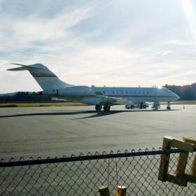 Parked Jet