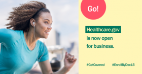 Don't miss your chance to get healthcare. Sign up at healthcare.gov