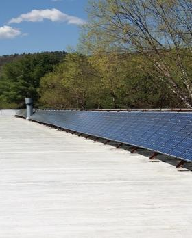 Filtrine Solar Array