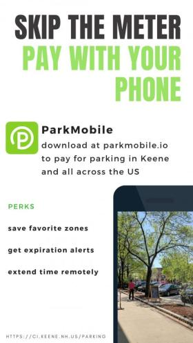Pay with your phone with ParkMobile