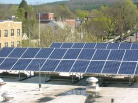 Solar Panel on City Hall