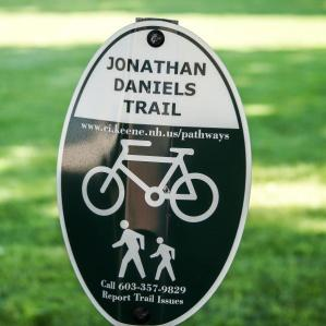 JD trail sign